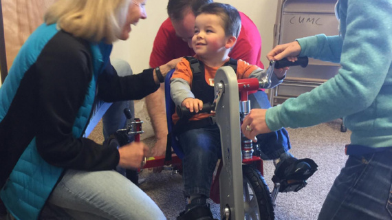 Amtryke Tricycles for Disabled Children